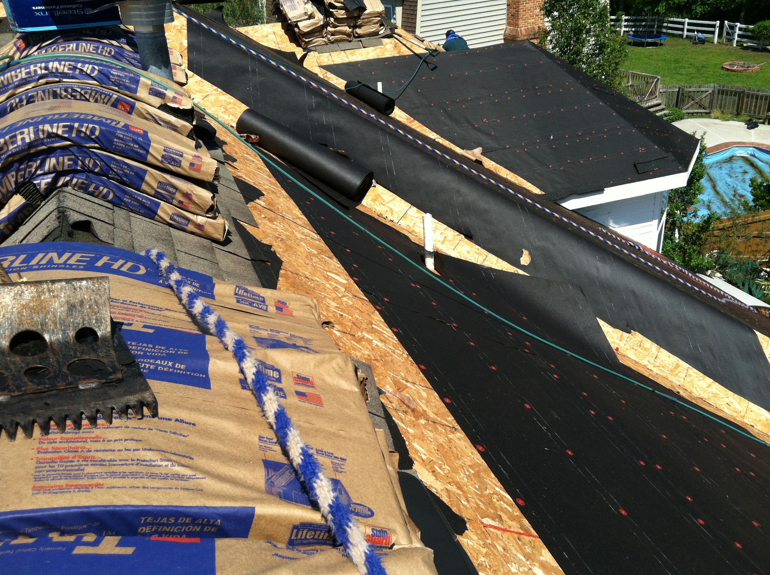 Different Types Of Roofing Underlayment